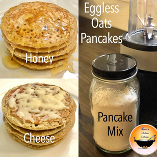 Eggless Oats Pancakes/Oats Pancake without egg/Healthy pancake recipe/Healthy recipe for weight loss