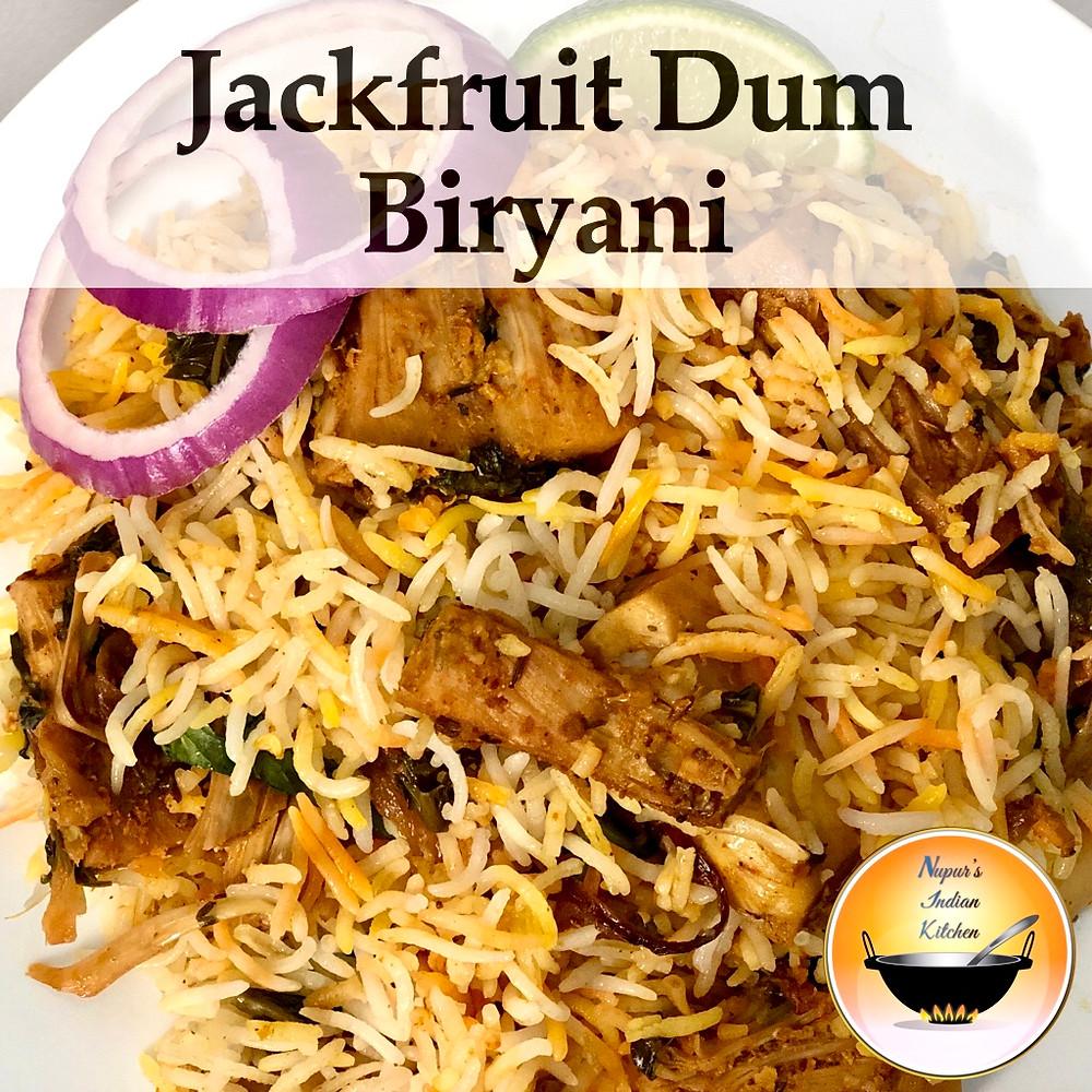 Raw Jackfruit Dum Biryani/Jackfruit Biryani Recipe/How to make jackfruit biryani/Kathal ki biryani