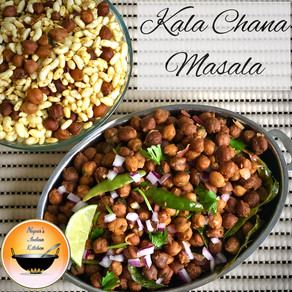 Kala chana masala recipe/Black chickpeas curry/Kala chana chaat/Black chana masala/Dry chana masala