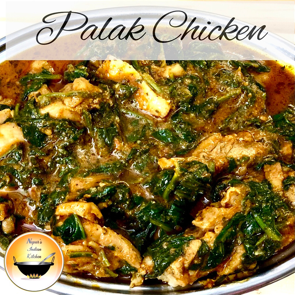 Palak Chicken Curry/How to make chicken curry with spinach/Palak Chicken Recipe/Murg Saagwala Recipe