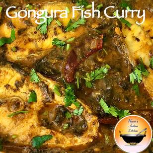 Gongura Fish Curry/Gongura Fish Masala/Gongura Chepala Pulusu/Sorrel Fish Curry/Andhra Fish Curry