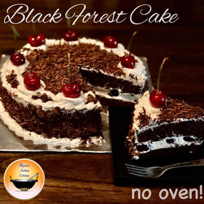 Black Forest Cake/How to make Black Forest Cake/Homemade black forest cake recipe without oven
