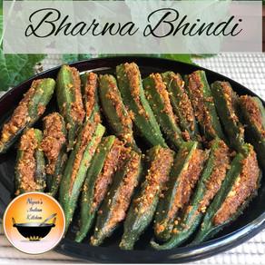 Bharwa Bhindi Recipe/Stuffed Bhindi/Stuffed Okra Recipe/Stuffed Masala Bhindi