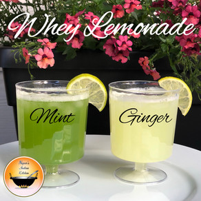 Refreshing Summer Drink Recipes with Whey water/Mint lemonade/Ginger lemonade/Non alcoholic drinks