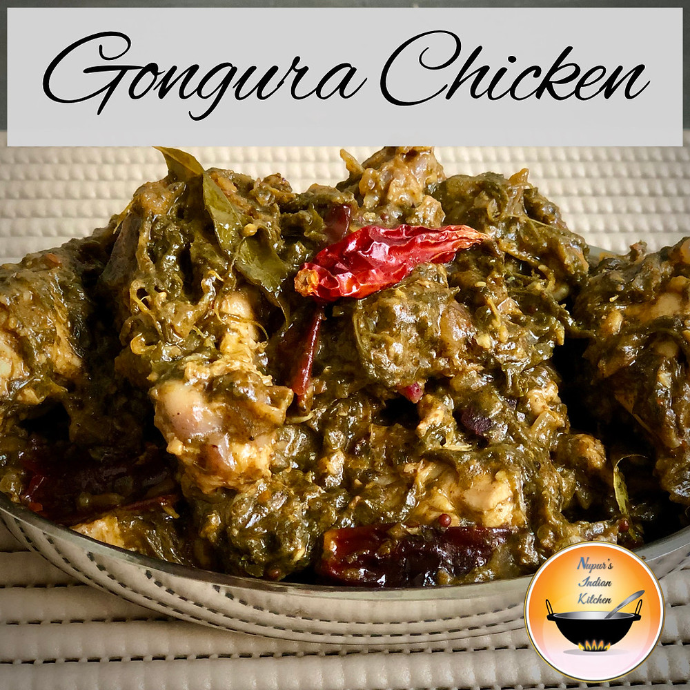 Gongura chicken/How to make Gongura chicken/Restaurant style gongura chicken/Gongura chicken curry