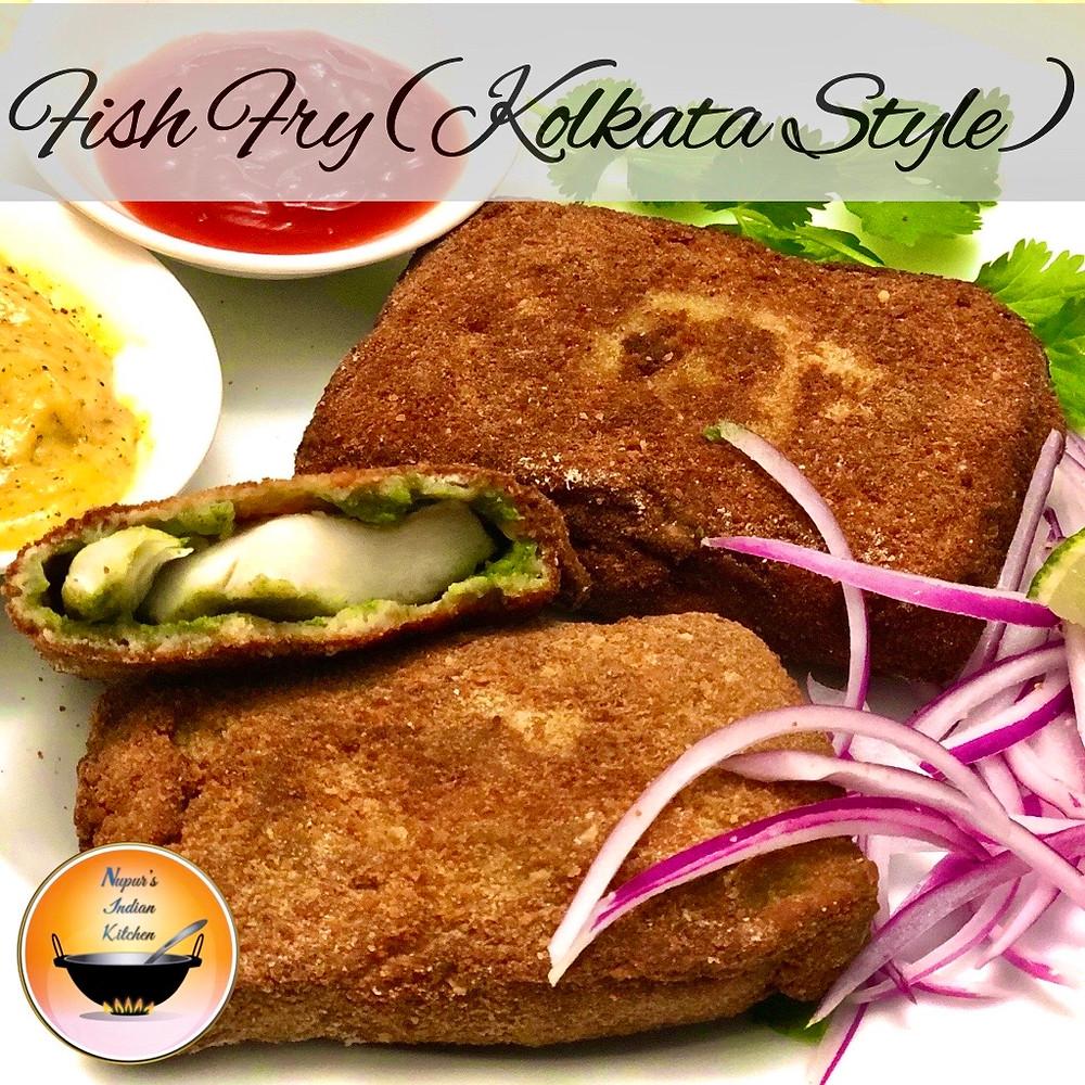 Fish fry/ How to make Kolkata style fish fry/ Bengali fish fry recipe/Apanjan style fish fry