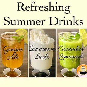 Summer drinks/Summer drink recipes/Refreshing summer drinks/Cold drinks for summer/Summer Mocktails