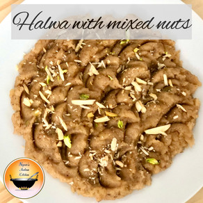 Halwa recipe/Sooji Halwa with mixed nuts/Sooji ka halwa in 15 min /Easy Suji Halwa recipe