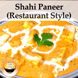 How to make Restaurant style Shahi Paneer at home/Shahi paneer/Shahi paneer recipe/Easy shahi paneer