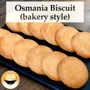 Osmania biscuit/Osmania biscuit recipe/How to make Osmania biscuit at home/Tea time homemade biscuit