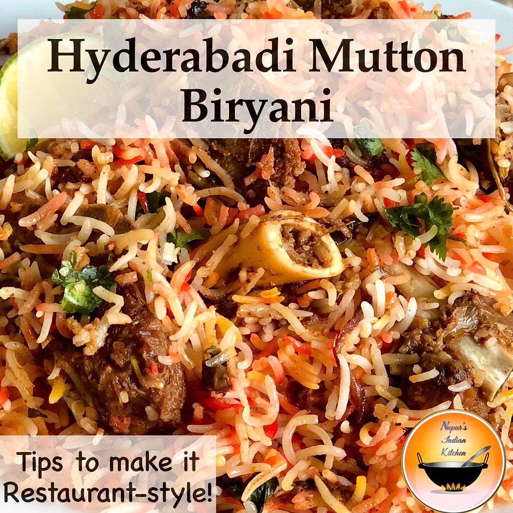 How to make Restaurant Style Hyderabadi Mutton Biryani at home/Hyderabadi Mutton Dum Biryani Recipe