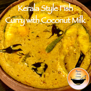 Kerala Style Fish Curry in Coconut Milk/Malabar Style Fish Curry/Fish curry in coconut milk recipe