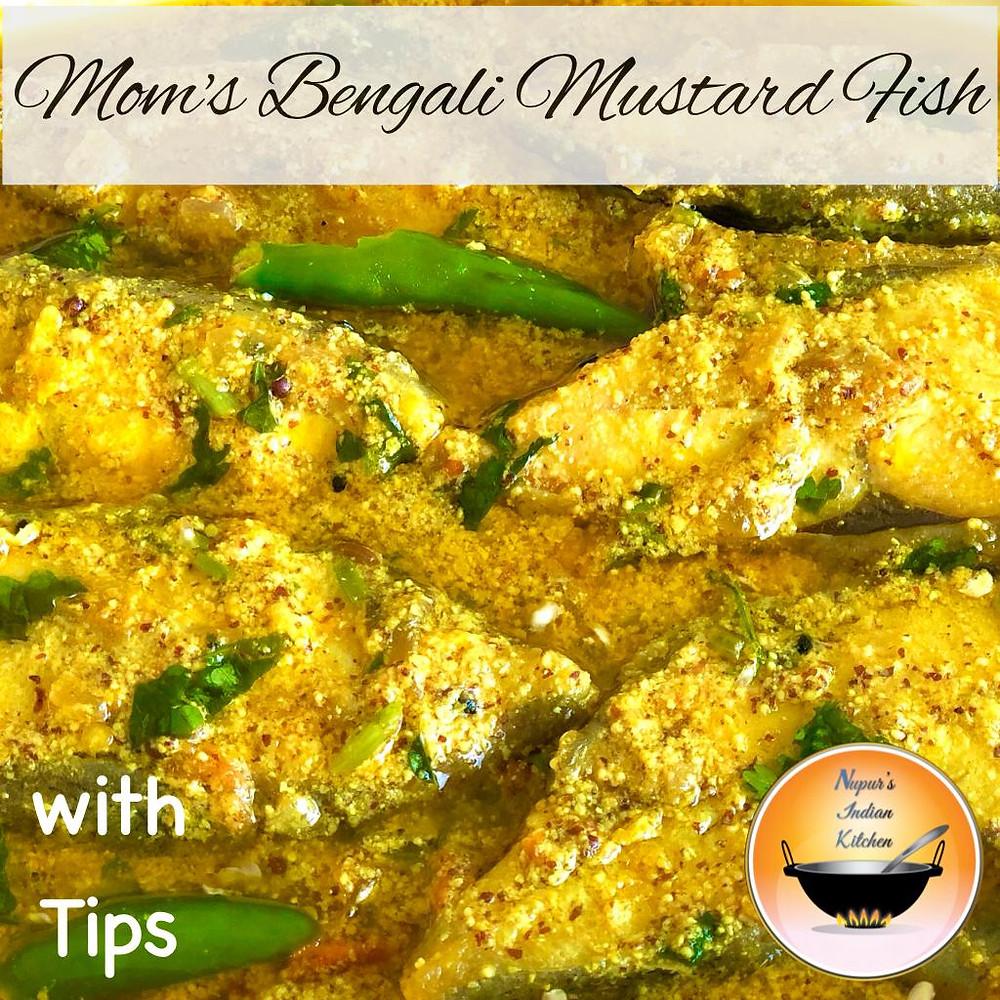 How to make Bengali mustard fish curry/Bengali fish curry recipe/Mustard fish curry/Shorshe Maach