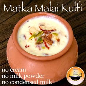 Easy Matka Malai Kulfi Recipe without Cream/Matka Kulfi Recipe/Matka Kulfi/Homemade Matka Kulfi
