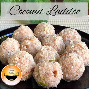 Coconut Laddoo/Nariyal Laddoo/Coconut Ladoo/Coconut Laddu/Easy Indian Coconut Sweet/Laddoo/Laddu