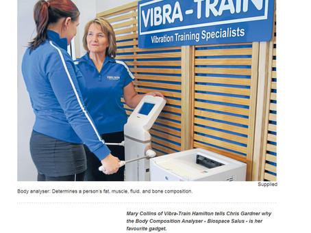Body Composition Tests at Vibra-Train Hamilton