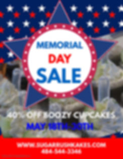 Copy of Memorial Day Sale Flyer - Made w