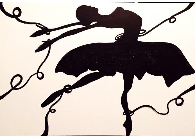Black Swan 150 x 100