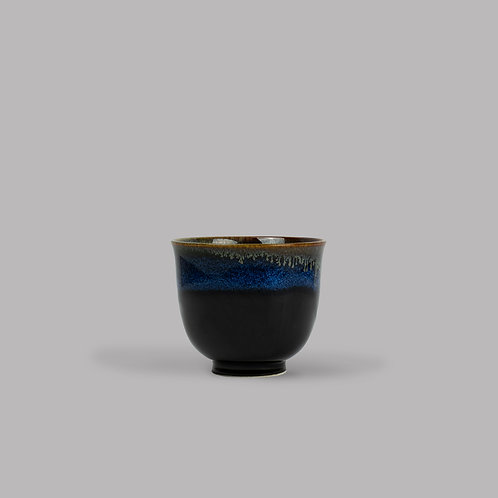 blue drip teacup