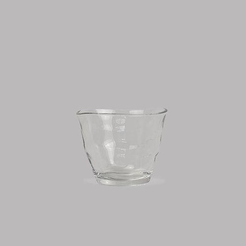 organic glass cup (short)