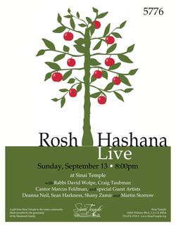 Rosh Hashana Live - Sinai Temple