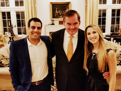With Governor Tom Ridge