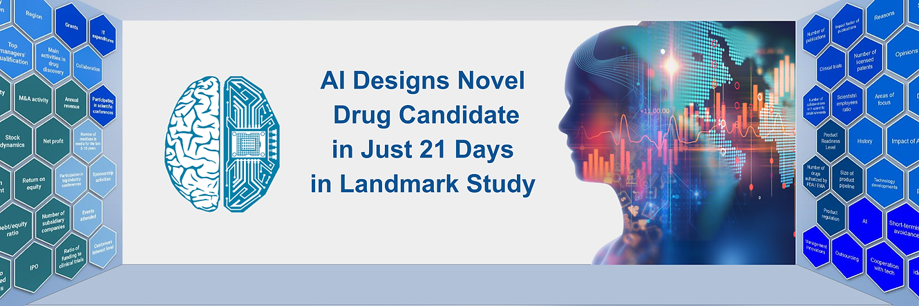 Ageing research to accelerate with experimental validation in AI-powered drug discovery