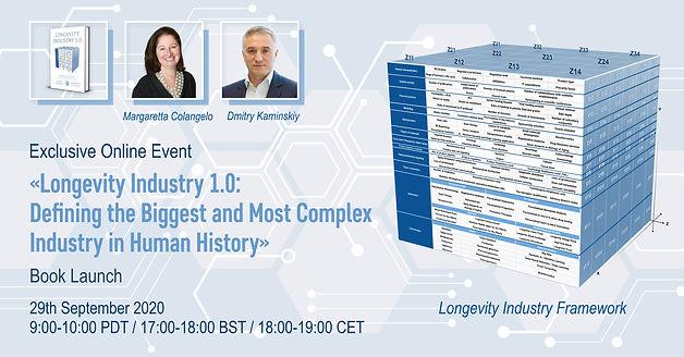 Longevity Industry 1.0 Virtual Book Laun
