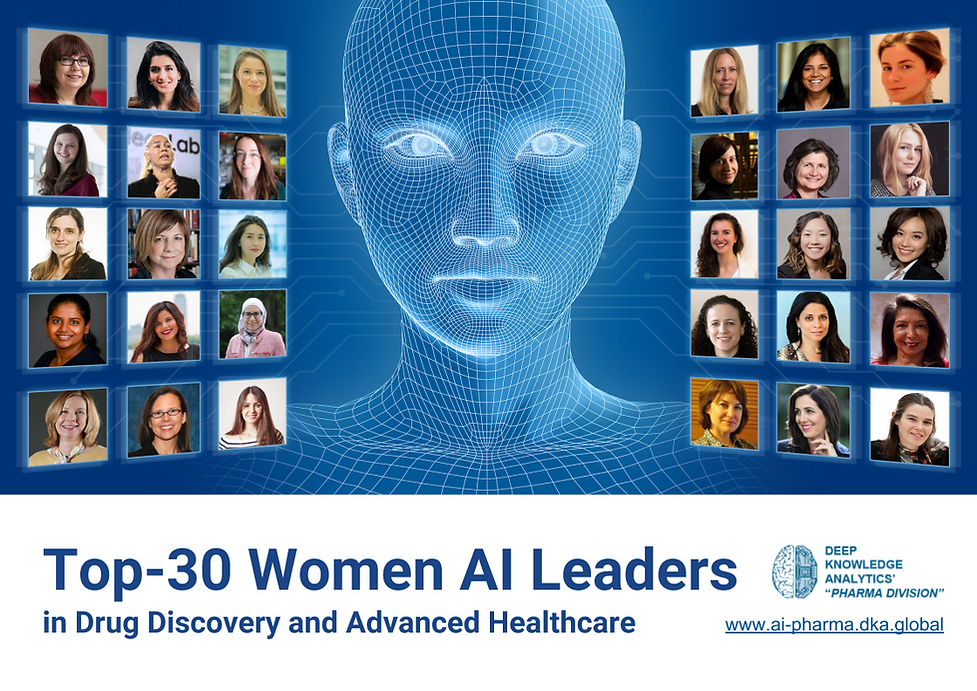 Top-30 Women Leaders in AI for Drug Disc