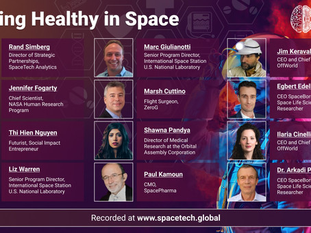 Staying Healthy In Space