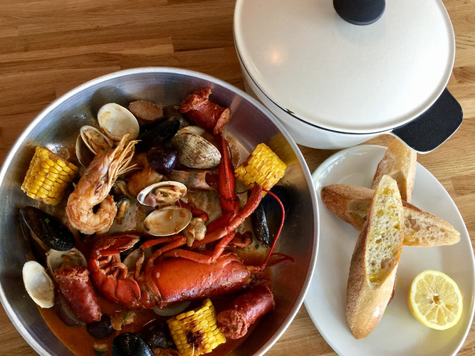 The Little Havana Clam Bake for Two