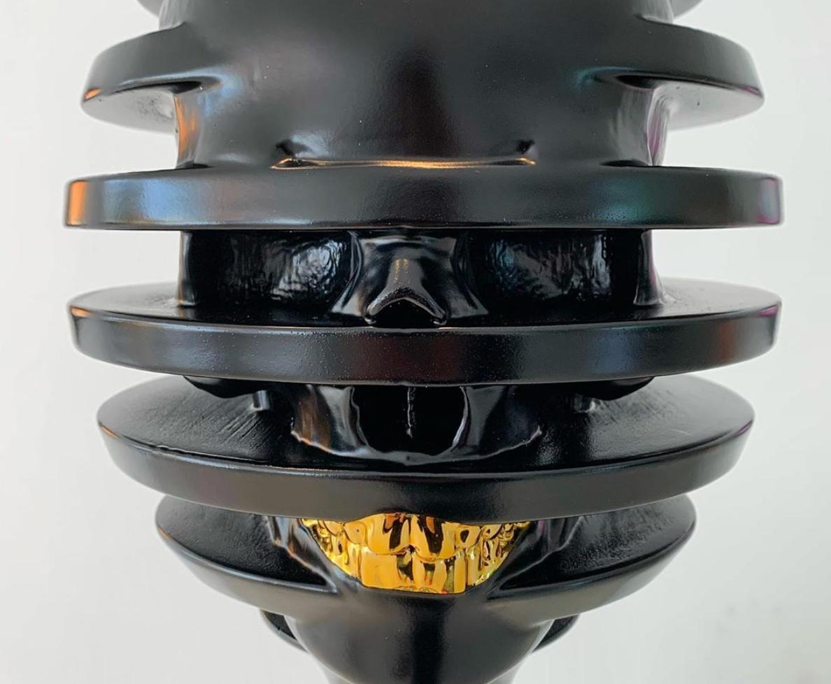 Black Honey Dipper Close Up