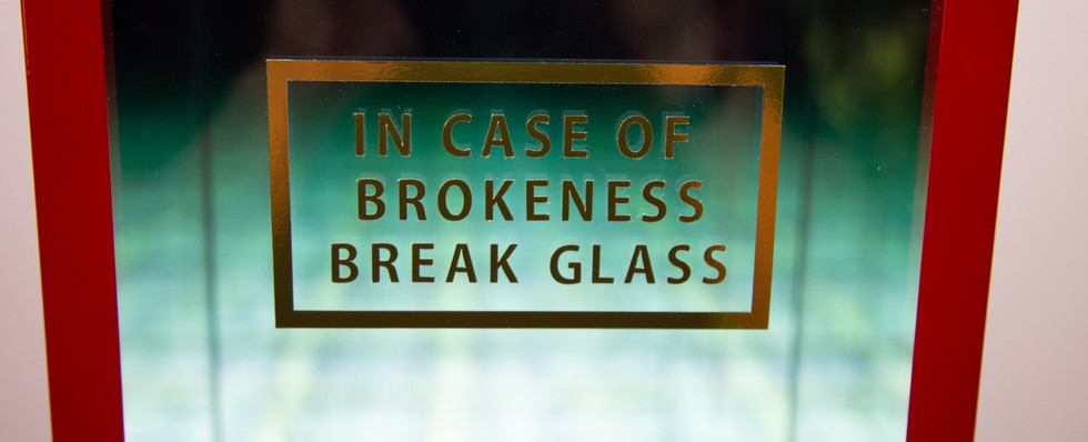 In Case of Brokeness