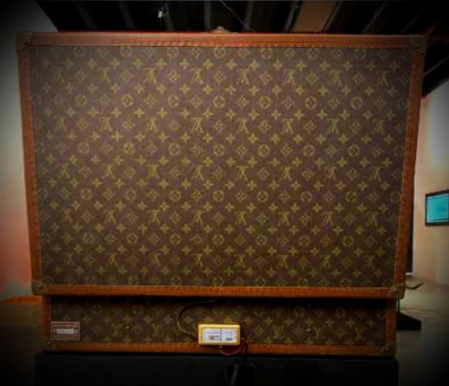 Louis Vuitton Trunk Vintage Authentic ZMK