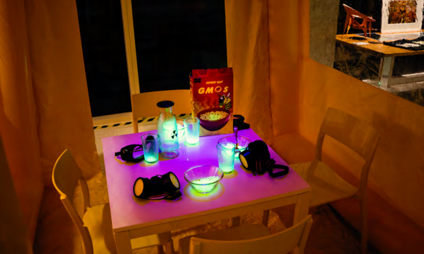 Nuclear Family Breakfast