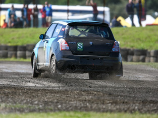 Hills Extends Winning Form In Swift Rallycross Championship