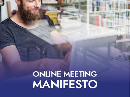 Online Meeting Manifesto