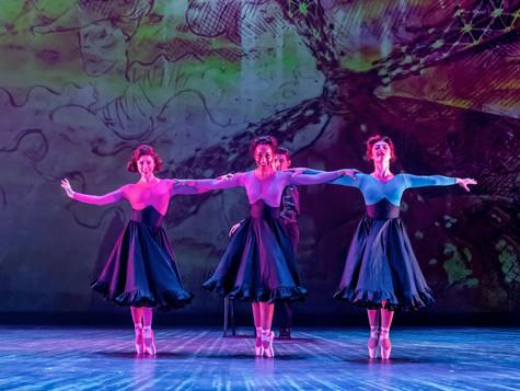 "Ariel Etana Triunfo, center, ""Ensemble"""