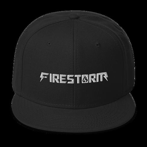 Firestorm Freerunning Logo Snapback Hat