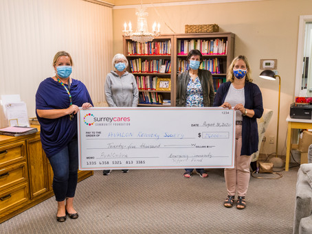 Avalon Recovery Society in White Rock receives a much-needed boost