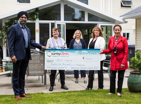 $75,000 granted to support mental health and over $40,000 for food security.