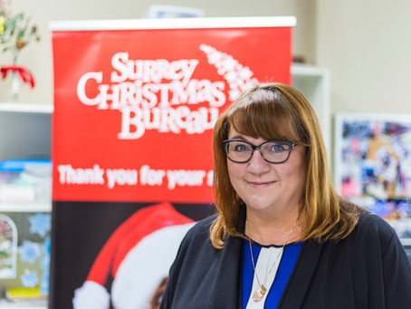 Surrey Christmas Bureau working to ensure a joyous Christmas season for vulnerable families