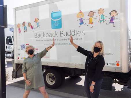Backpack Buddies ensures over 400 vulnerable Surrey children receive meal items for the weekend