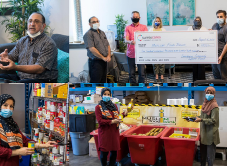 Muslim Food Bank receives $119,727 in grants for mental health and food support services