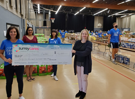 1,000 Food Hampers on the way to Surrey Families