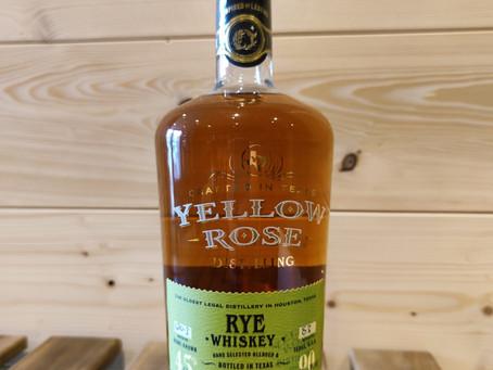 Yellow Rose Rye Whiskey