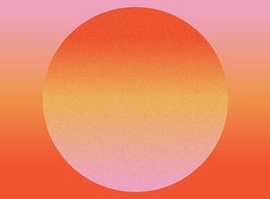 Por do sol abstrato