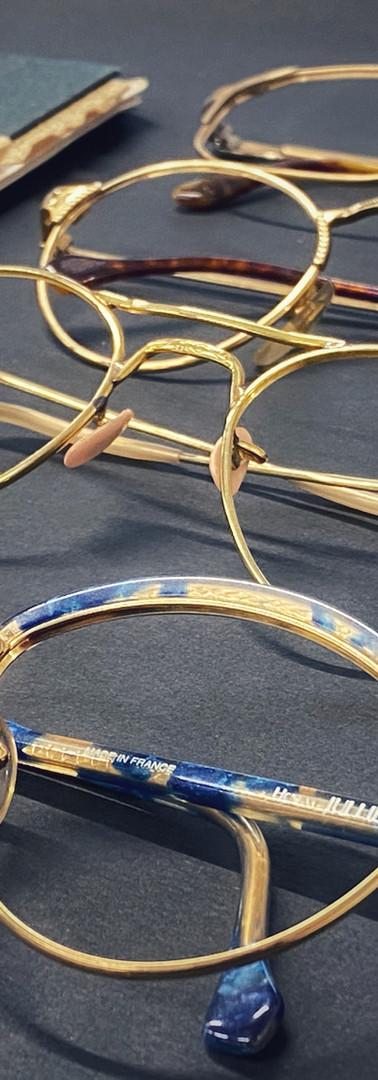 Atelier Lunettes vintage doublé or Henry Jullien