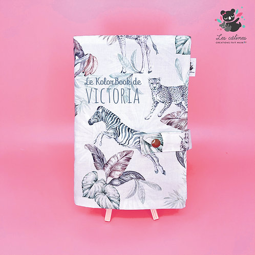 KolorBook 4 pages / Couverture 1 tissus