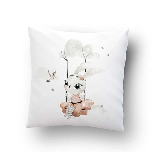 Coussin Sweet Bunny - Blanc